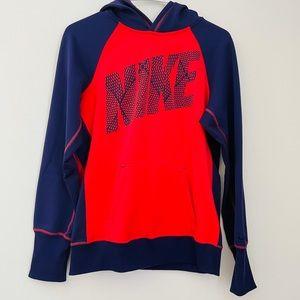 NIKE Retro Bright Color Block Hooded Sweatshirt
